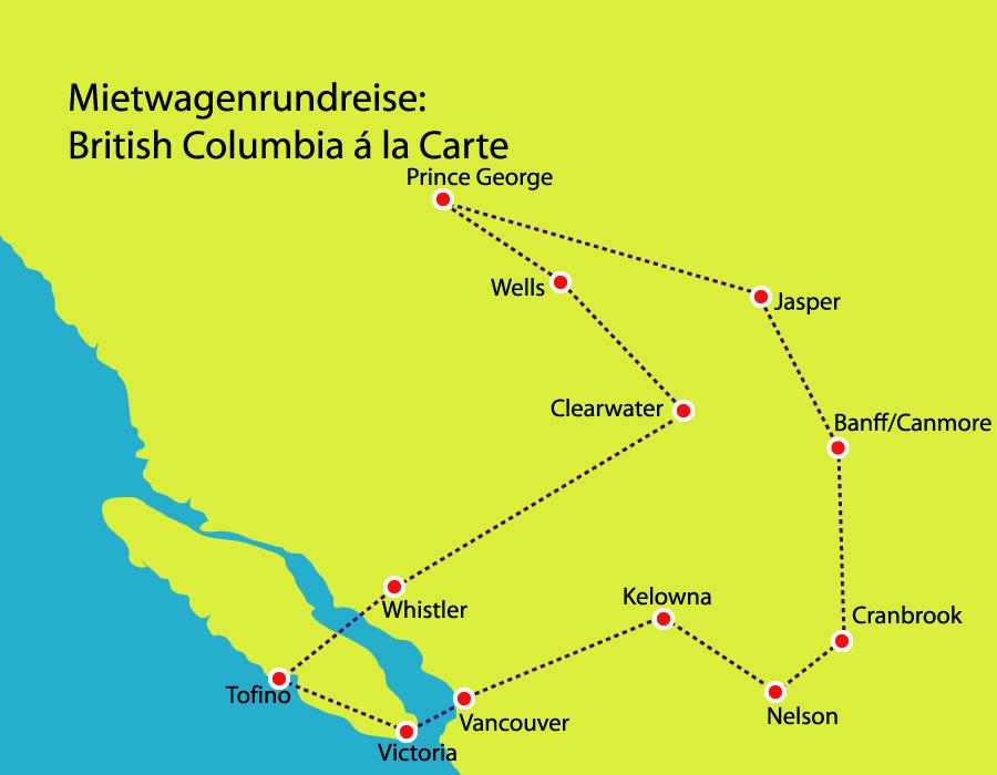 British Columbia erfahren