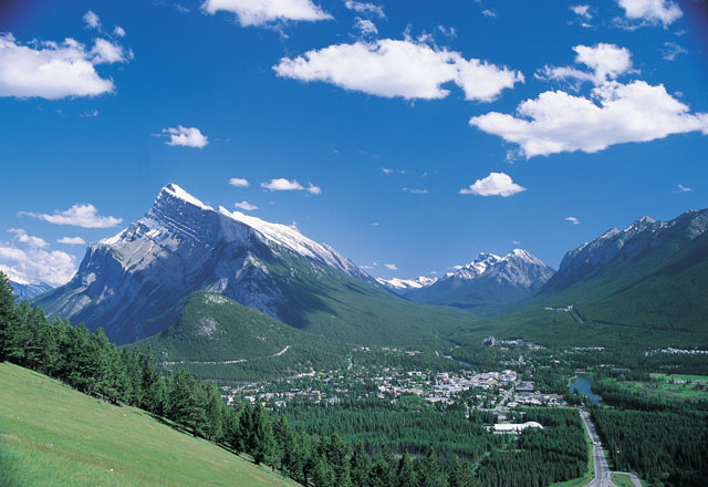 Rocky Mountains im Banff Nationalaprk