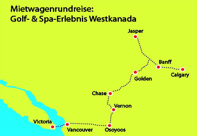 Golf-Spa-Erlebnis Westkanada