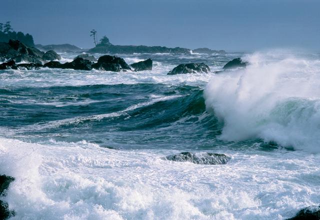 Meeresrauschen in Westkanada