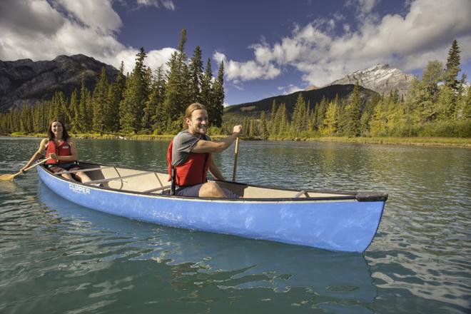Kanu Alberta Westkanada Gruppenreise