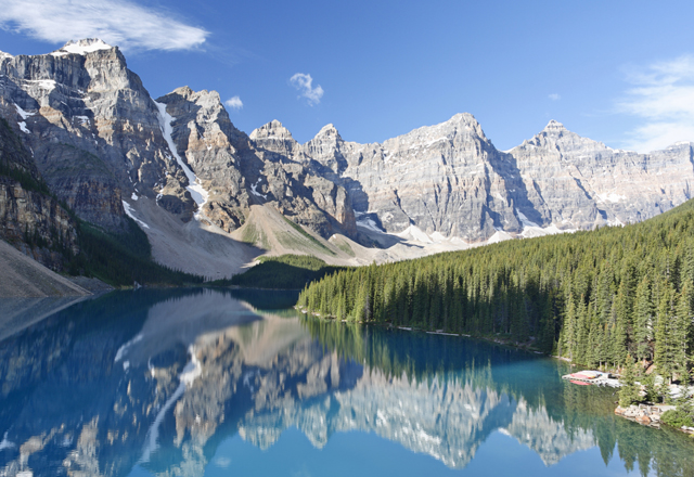 Der Banff Nationalpark ist der älteste Nationalpark Kanadas