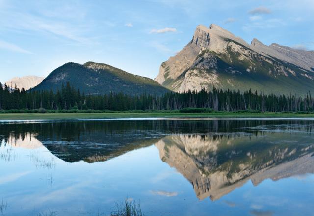 Einzigartige Berge und Landschaften in Kanada