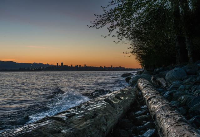 Der Ausblick auf Vancouver