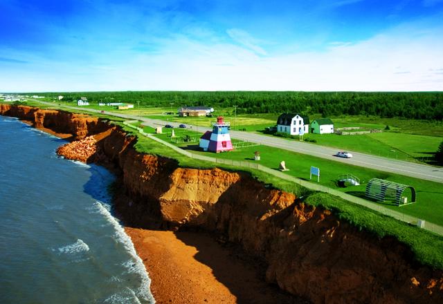 Küstenlandschaft in Nova Scotia Kanada
