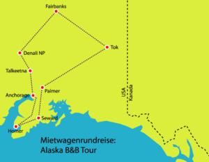 Alaska B&B Tour