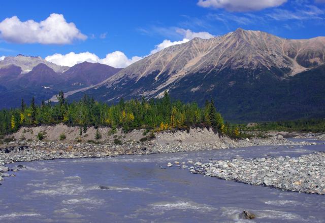 Alaska und Yukons Landschaft entdecken
