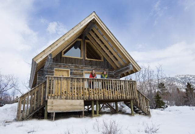 Die Sky High Ranch bietet Ihnen schöne Unterkünfte in der Natur Kanadas
