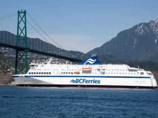 Fähre in British Columbia