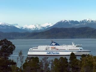 BC Fähren entlang der Westküste