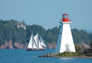 Küstenlandschaft in Ostkanada
