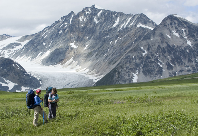 Gletscher im Yukon Gruppenreise Nordkanada