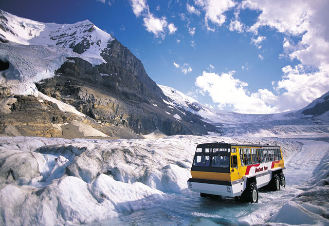 Busreise Columbia Icefield Alberta Westkanada