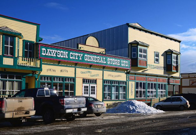 Dawson City Norden Kanada