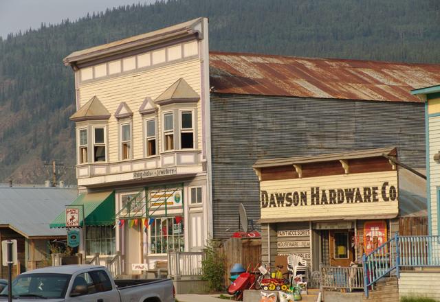Dawson City in Alaska
