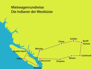 Mietwagenrundreise in Westkanada zu den Indianern