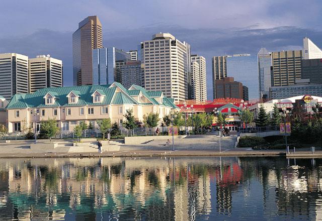 Skylne von Calgary in Kanada