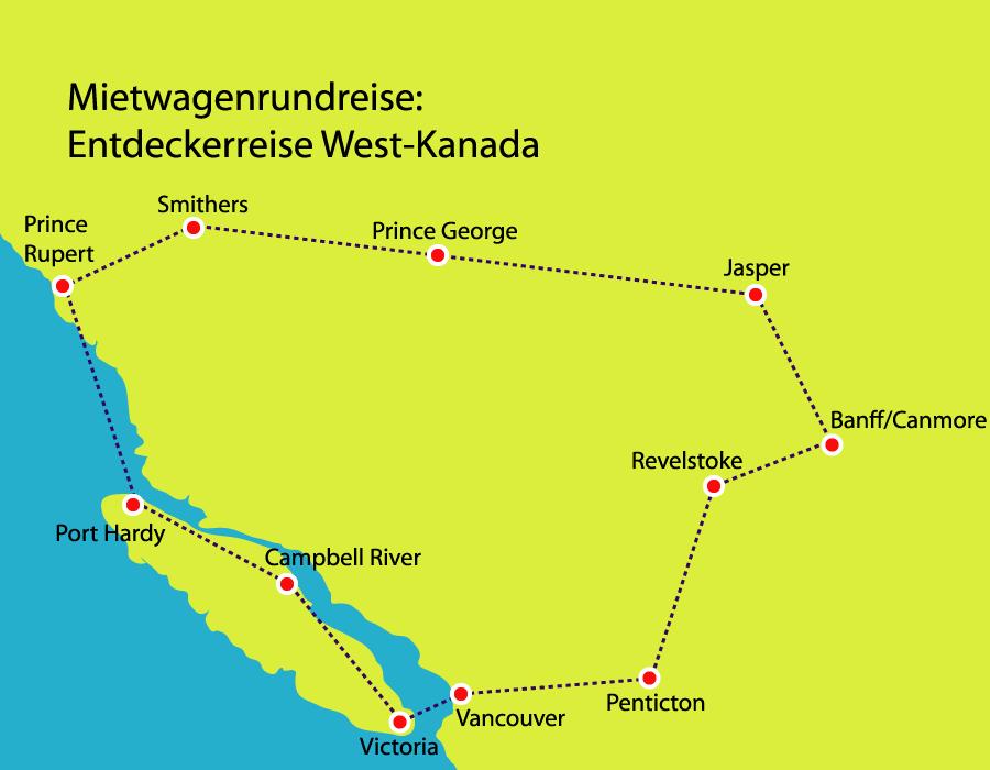 Entdeckerreise Westkanada