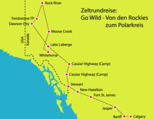 """Mietwagenrundreise """"Canada Northwest - Go Wild"""""""