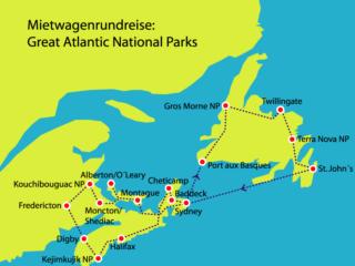 Nationalparks Atlantik Kanada