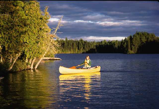 Kanu fahren in Ostkanada