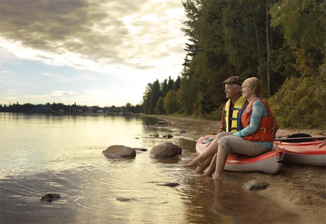 Kanu See Westkanada