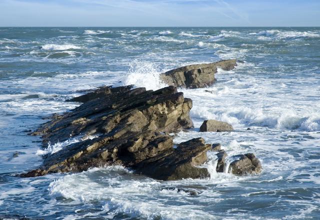Küste in Nova Scotia in Ostkanada