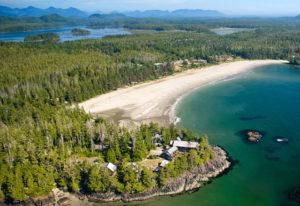 Strand und Gletscher Tour auf Vancouver Island