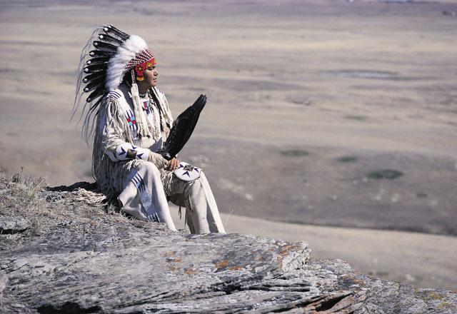 Indianer in Westkanada