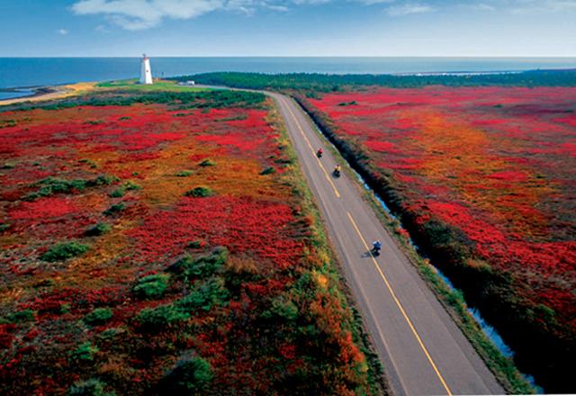 New Brunswick in Kanada Natur Mietwagenrundreise