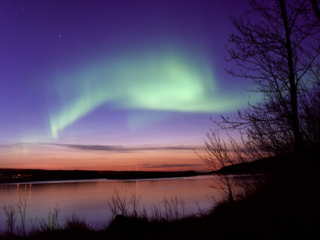 Nordlichter in Ostkanada