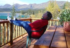 Entspannen auf der Rúby Range Lodge in der Wildnis von Kanada