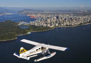 Flug von Vancouver Harbour nach Victoria