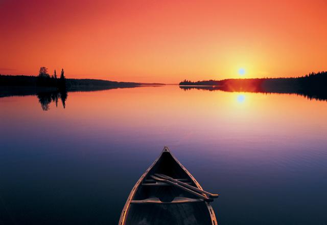 Kanu in Saskatchewan