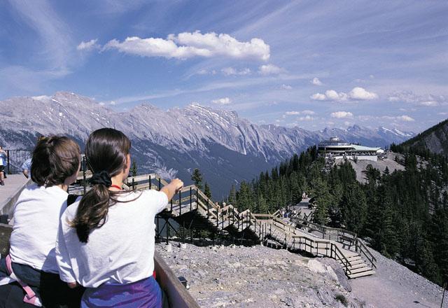 Die Rocky Mountains in Kanada