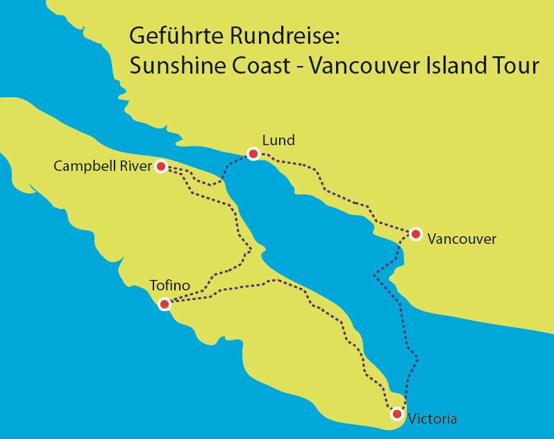 Sunshine Coast - Vancouver Island Tour
