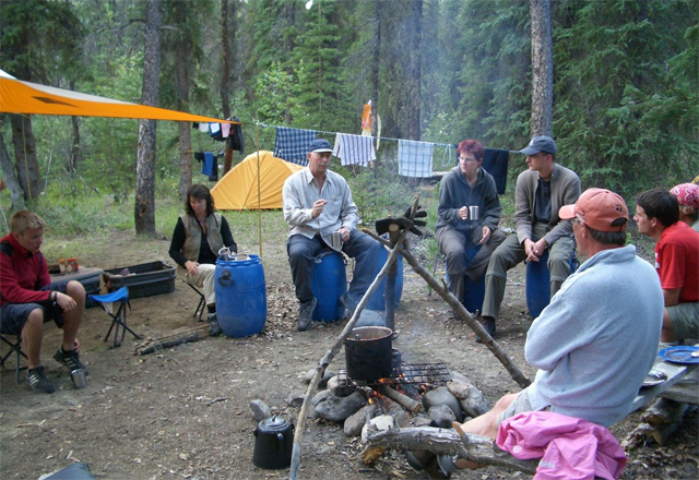 Survival Training in den Rocky Mountains
