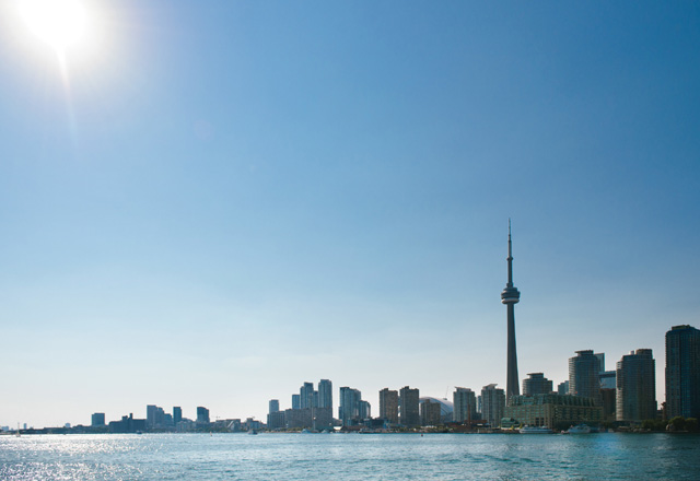 Toronto Metropole in Ostkanada