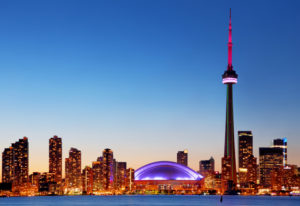Metropole von Ostkanada Toronto