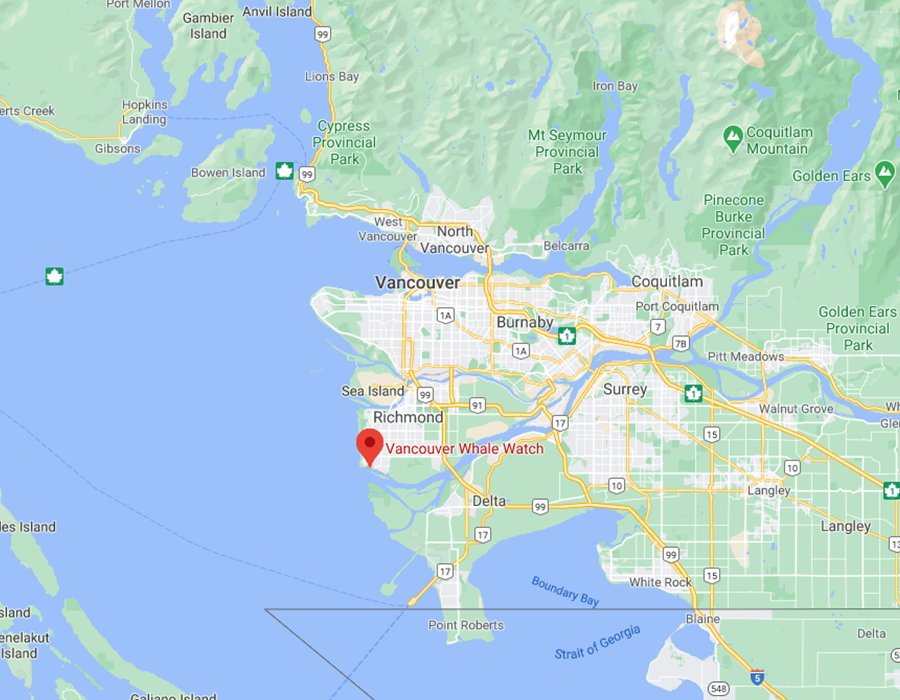 Vancouver Karte Steveston