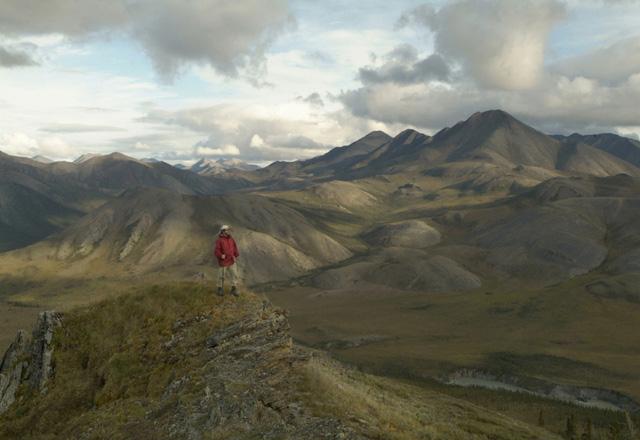 Gruppenreise und wandern im Yukon