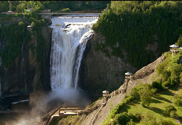 Wasserfall in Ontario in Ostkanada