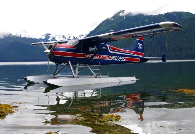 Wasserflugzeug in Westkanada
