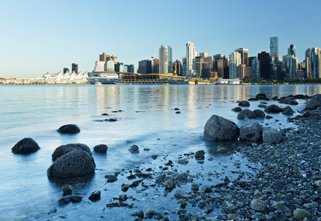 Skylineblick auf Vancouver