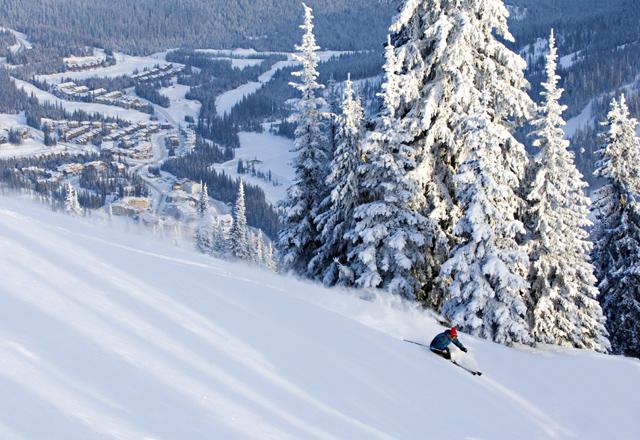 Winterwunderland in Sun Peaks