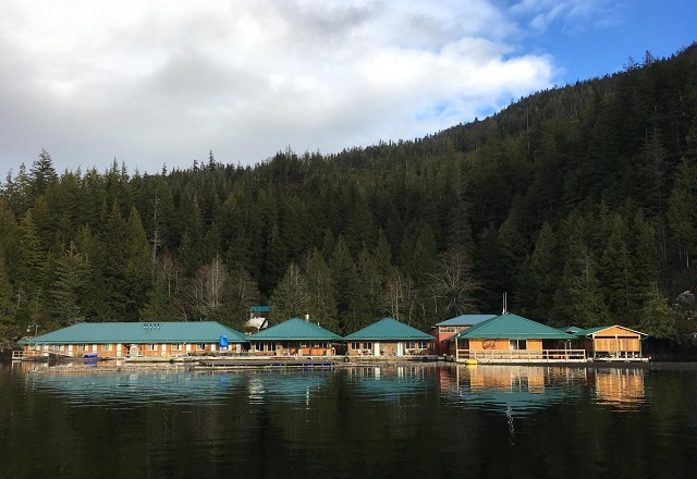 Knight Inlet Lodge Kanada