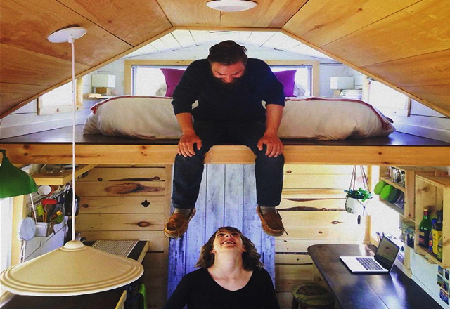 Das kleine Ferienhaus ist eine neue Erfahrung Kanada zu erleben