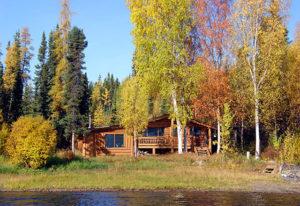 Blockhüttenerlebnis Frances Lake, Yukon