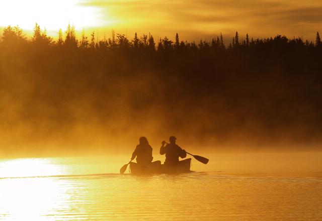 Westkanada Kanutour Saskatchewan