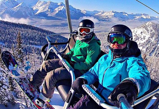 Skifahren Banff, Jasper und Kicking Horse
